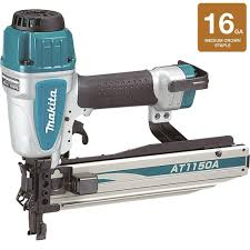 Best Pneumatic Staple Gun For Upholstery Makita 7 16 In X 16 Gauge Medium Crown Stapler At1150a The Home