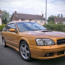 gold subaru legacy stunning 1998 subaru legacy gt b twin turbo rare mustard mica