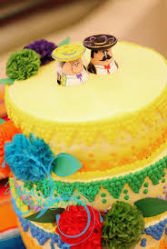wedding cake toppers theme mexican theme cake topper wedding cake mexican theme salt and
