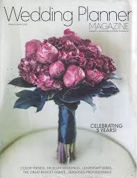 wedding planner magazine wedding planner magazine book reading notice idoplan