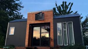 bright and modern tiny house for sale 176 sq ft youtube