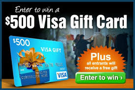 500 gift card win a visa gift card from eversave 500 plus free gift for entering