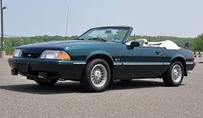 7 up edition mustang soda pop special 1990 mustang 7up edition