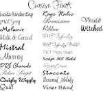 Cool Tattoo Fonts Design: For Written Tattoo | Conpad