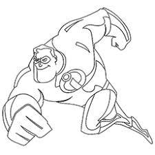 incredibles coloring pages bestofcoloring