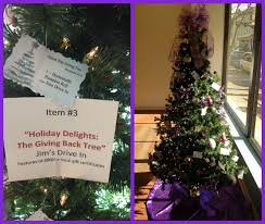if you want a decorated christmas tree check out the united way