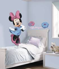 disney wall decorations home design ideas minnie mouse giant wall decals big disney stickers new kids mickey bedroom decor ebay