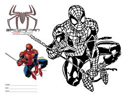 pages spiderman