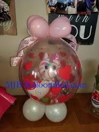 balloon gifts stuffed balloon gifts centerpieces
