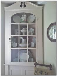 White Corner Cabinet For Kitchen by White Kitchen Corner Cabinet Hutch Bar Cabinet