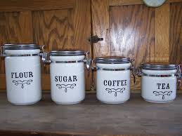 glass kitchen canister set rustic kitchen canisters for storage mesmerizing canister set