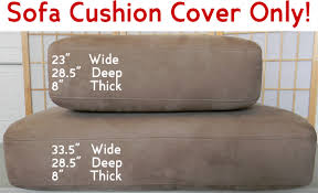 Replacement Cusions Rectangular Sofa Cushion Cover Only Sea Rider
