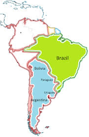 Map Of Brazil South America by The Platine War Ends And The Empire Of Brazil Has The Hegemony