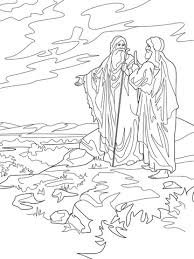 abraham and isaac coloring page abraham and lot part ways coloring page from abraham category
