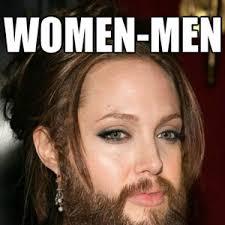 Facial Hair Meme - if women had body facial hair by vracomorph meme center