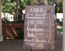 three cords wedding ceremony a cord of three strands is not easily broken ecc 4 9 12 unity