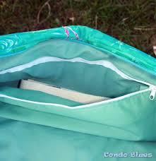 pattern for tote bag with zipper condo blues zipper yoga mat tote bag tutorial