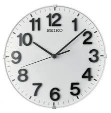 wonderful seiko silent wall clock 129 seiko quiet sweep black