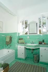 bathroom tile thirties style mint green bathroom tile home