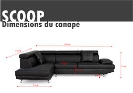 canapé d angle scoop trouver canape d angle scoop