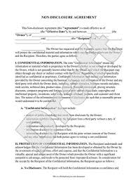 Secrecy Agreement Template secrecy agreement template non disclosure agreement nda form create