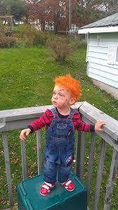 Chucky Halloween Costume Kids 25 Toddler Chucky Costume Ideas Chucky