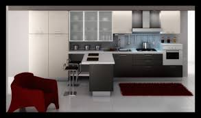 Kitchen Aid Cabinets Kitchen Furniture Chic Dark Brown Color Wooden Kitchen Aid