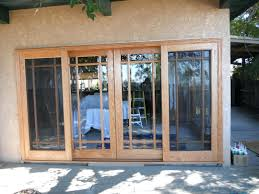 Sliding Wood Patio Doors Wood Patio Doors Kingslearning Info