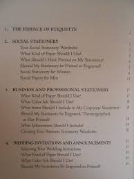 crane s blue book of stationery the styles and etiquette of