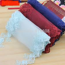 navy lace ribbon online shop high quality vintage style embroidered lace trim flowers
