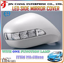 lexus es 350 side mirror high quality for rhd lexus is250 is350 isf led side mirror cover