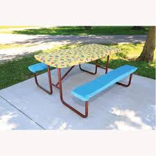 3 piece fitted picnic table bench covers adventurer picnic table cover direcsource ltd 101089