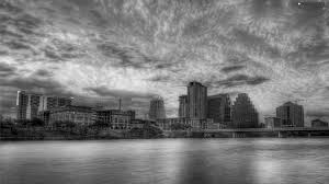 Austin Houses by Grayscale Austin Houses River Teksas Clouds 1920x1080