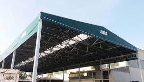 coperture tettoie in pvc capannoni mobili e tunnel mobili civert coperture pvc
