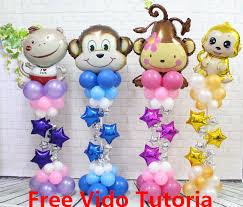 party supplies wholesale wholesale 52pcs set monkey theme party supplies five point