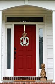 Red Door Piper Ellice Front Door Before U0026 After