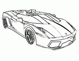 car color pages online 7452