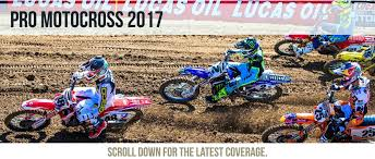 motocross racing 2017 pro motocross schedule rider numbers photos u0026 videos dirt