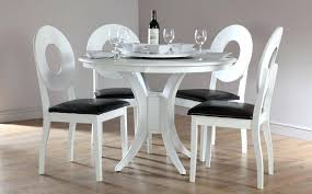 modern white round dining table modern round kitchen table and chairs thegoodcheer co