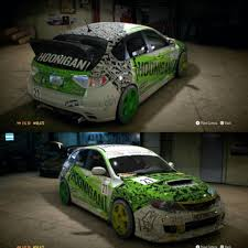 hoonigan cars need for speed hoonigan subaru wrx sti