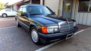1990 mercedes benz 190e low miles rare condition classic