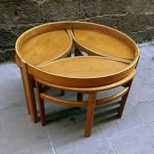 round nesting tables design round nesting tables leg u2013 modern