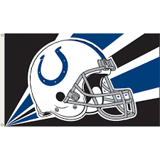 indianapolis colts 3 ft x 5 ft flag colts helmet