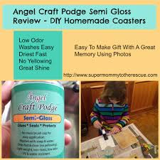 angel craft podge super mommy to the rescue