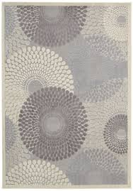 6 X 7 Area Rug Nourison Graphic Illusions Grey Abstract Area Rug U0026 Reviews