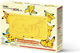 amazon black friday deals 2016 3ds prime nintendo pikachu yellow edition new nintendo 3ds xl console