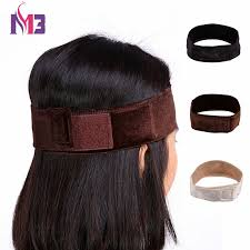 wig grips for women that have hair fashion women velvet wig grip headband adjustable comfort head