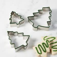 green tree cookie cutters set of 3 crate and barrel