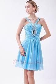 blue graduation dresses best choose v neck sky blue graduation dress