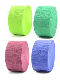tissue paper streamers cindus crepe paper streamers misterart